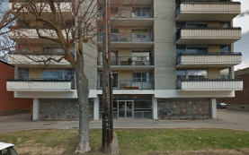 Front facade of The Albany - Assumption House - at 305 Nelson in April 2015. Image: Google Maps.
