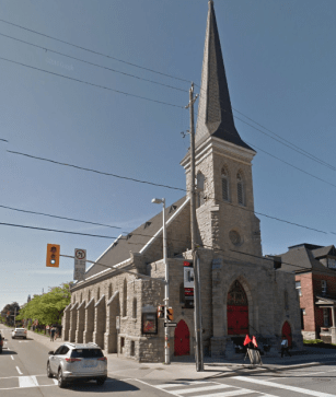 St. Paul's Lutheran Church at the corner of King Edward and Wilbrod. Image: Google Maps, June 2016.