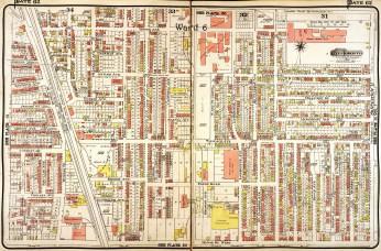 1913. Source: Goad's Atlas, 1913, Plate 62.
