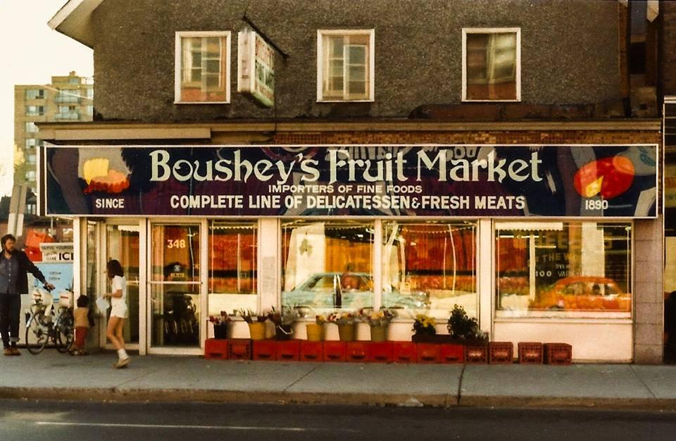 Boushey's in the early 1980s. Image: Ronald Temchuk.