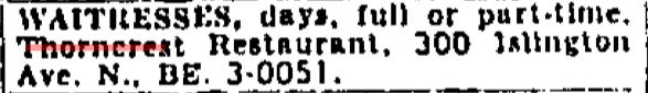 Source: Toronto Star, February 26, 1958, 47.