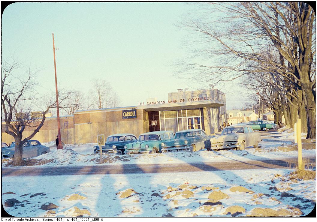 Image: City of Toronto Archives / Etobicoke Fonds (213), Etobicoke Clerk's Photographs (Series 1464), File 1, Item 15 (c. 1956).