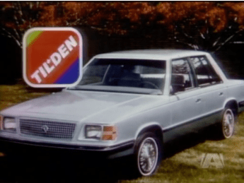...and a K-Car from Tilden awaited guests of the Littlest Hobo.