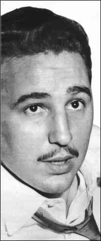 Castro in NYC, 1955