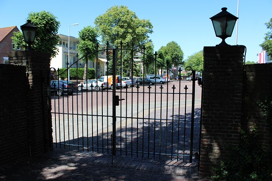 Gate towards the cemetery