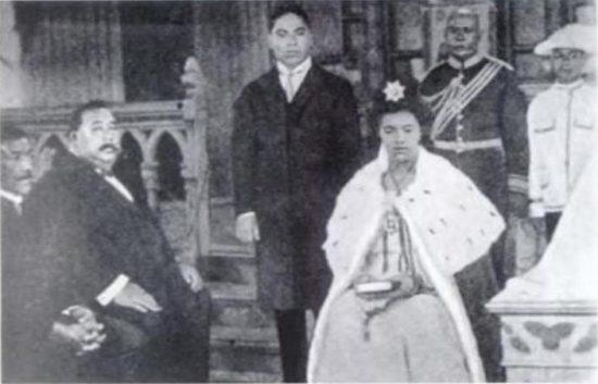 Coronation of Queen Salote