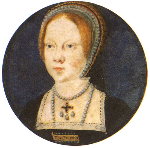 Circa 1525, attributed to Lucas Horenbout