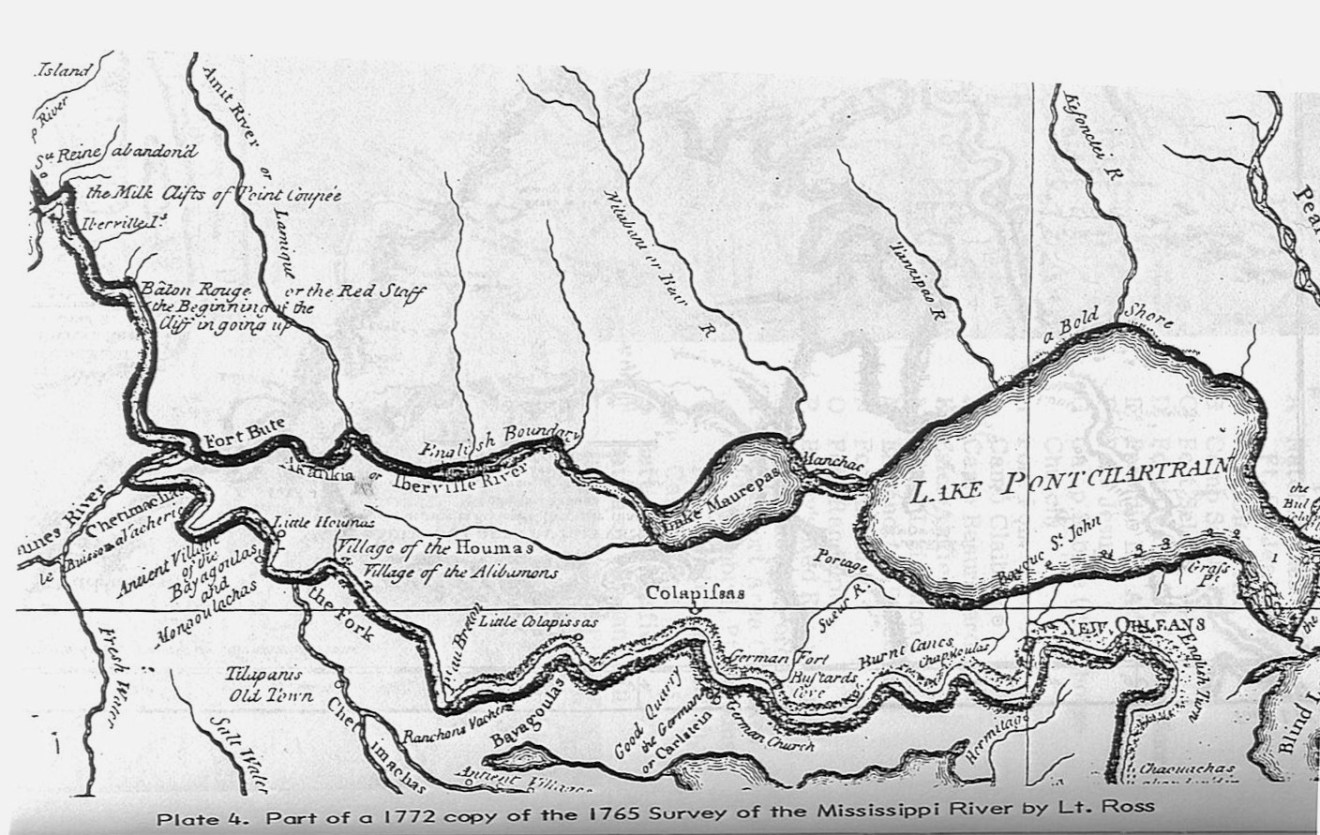 1765 Survey of the Mississippi River