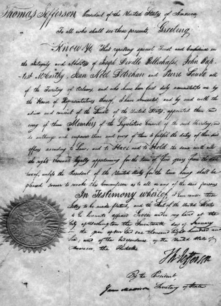 Jefferson Document