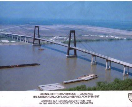 Luling-Destrehan Bridge Award Flyer