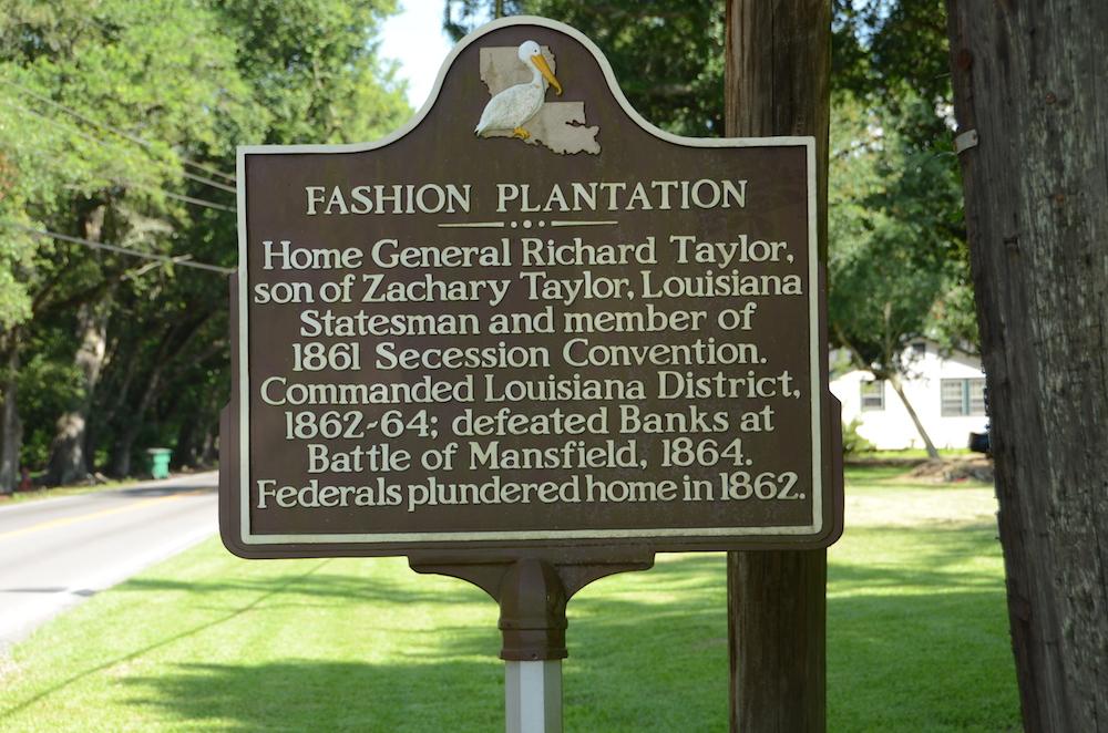 Fashion Plantation Historical Marker - Image