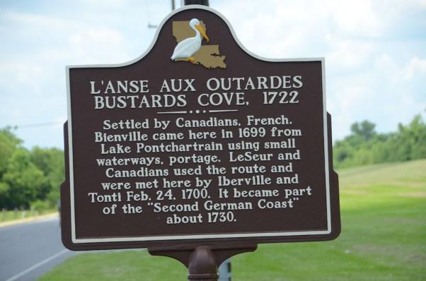 Bustard's Cove Historical Marker