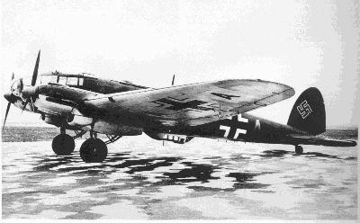 Heinkel He 111: Side View