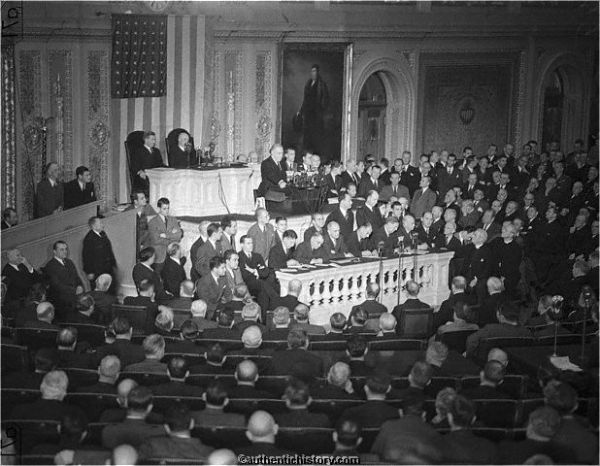 Address to Congress, by Franklin D. Roosevelt, December 8 ...