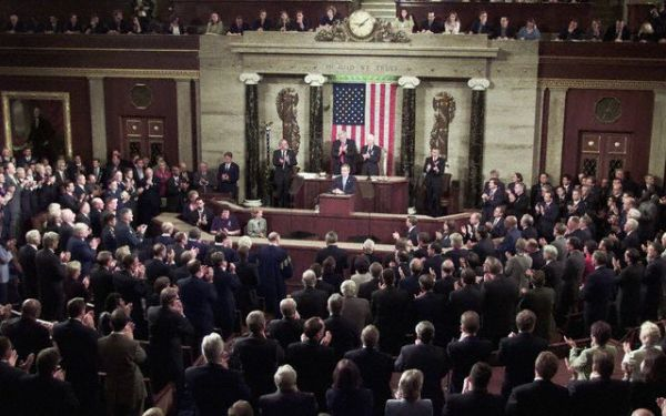 President Bush Addresses a Joint Session of Congress, full ...