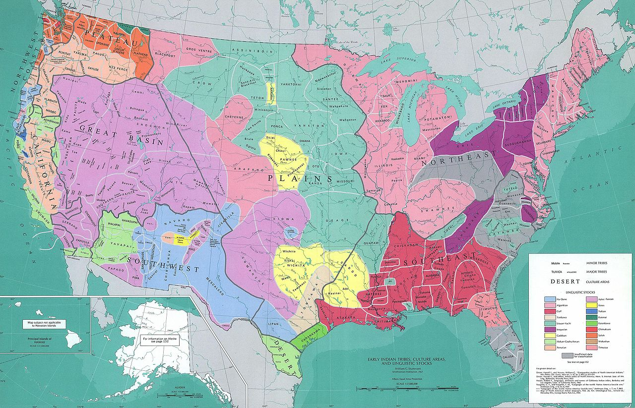 Native American Tribes And Nations