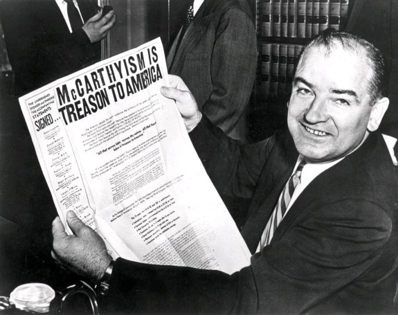 Image result for mccarthyism