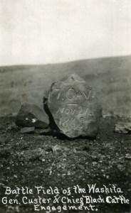 Marker at Battle of the Washita