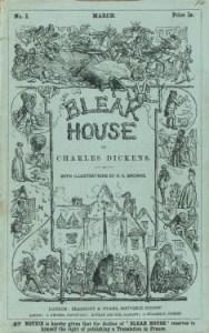 Bleak House Serial Cover