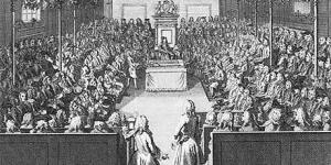 Parliament in session ca. 17th-18th Century