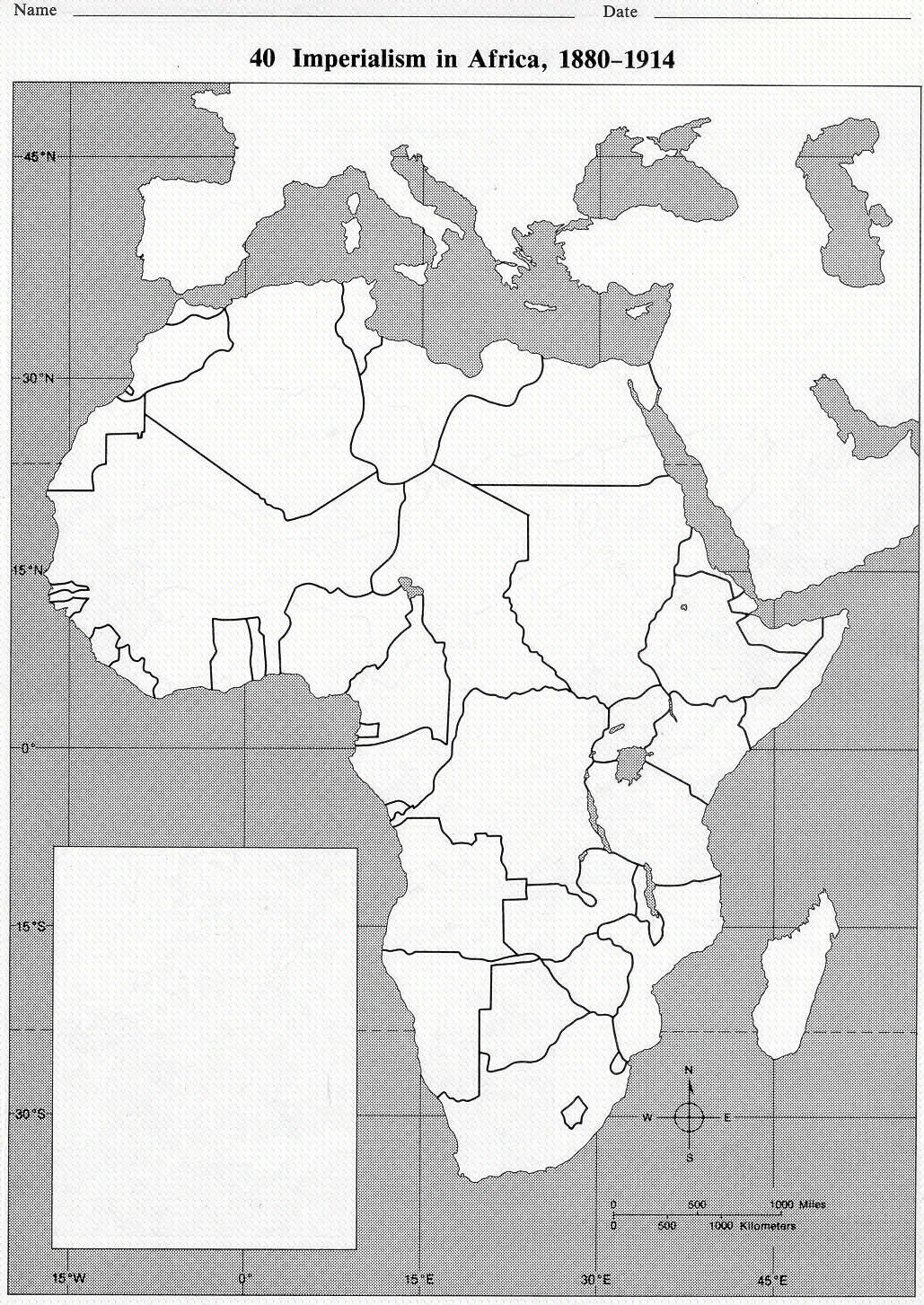 28 Imperialism In Africa Map