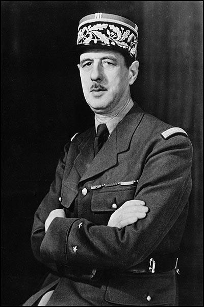 Charles de Gaulle c.1942