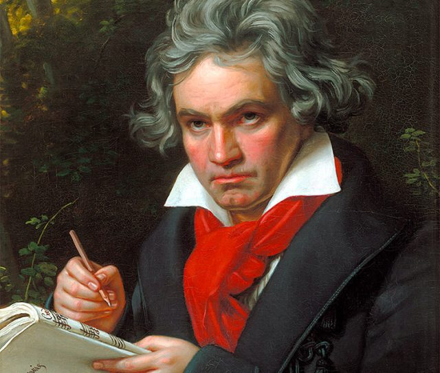 Portrait Of Beethoven By Joseph Karl Stieler 1820