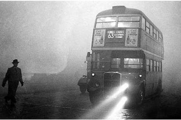 London during the Great Smog