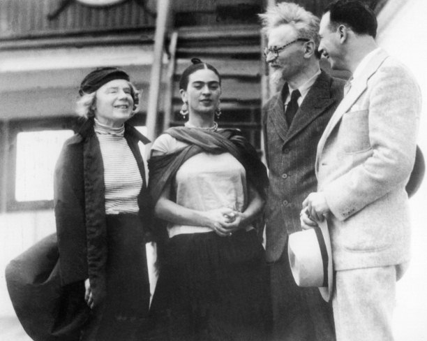Image result for trotsky and frida