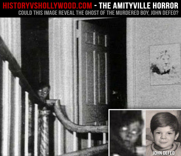 Image result for amityville house ghost