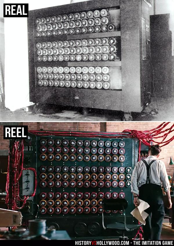 Turing Bombe Machine and Christopher Machine (movie)