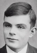 Young Alan Turing as Teenager