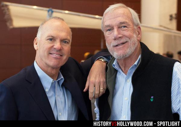 Michael Keaton and Walter Robinson