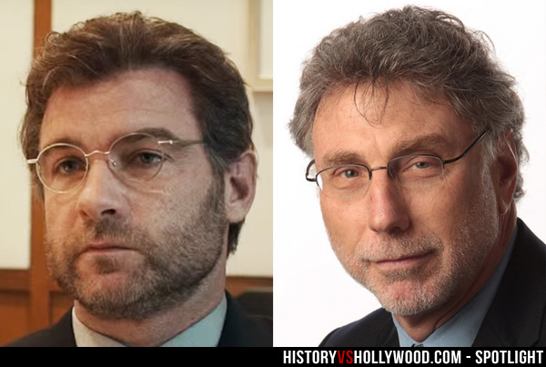 Liev Schreiber and Marty Baron