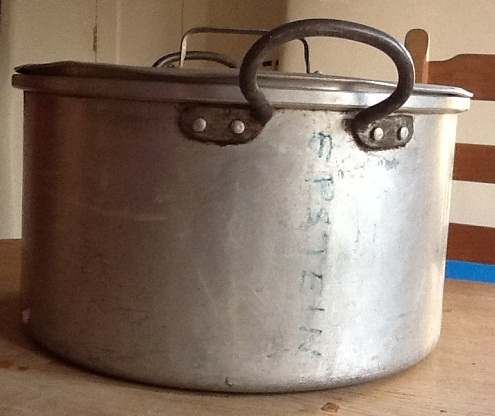 image of debbie epstein's mother's saucepan