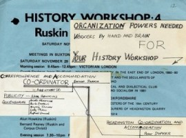 History Workshop 4