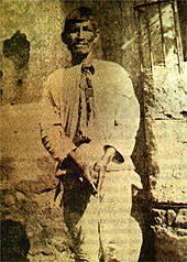 Indigenous leader Feliciano Ama prior to his execution