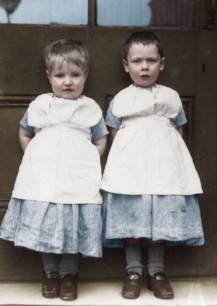 Manchester Archives: Children at Crumpsall Workhouse, c.1897 Catlog: GB124.DPA/2372/83