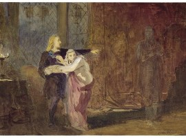 Mr Edmund Kean as Hamlet. Hamlet seeing his father's ghost. Folger ART Box A164 no.1 (size L) (Digital Image filename 35608). Used by permission of the Folger Shakespeare Library under a Creative Commons Attribution-ShareAlike 4.0 International License.