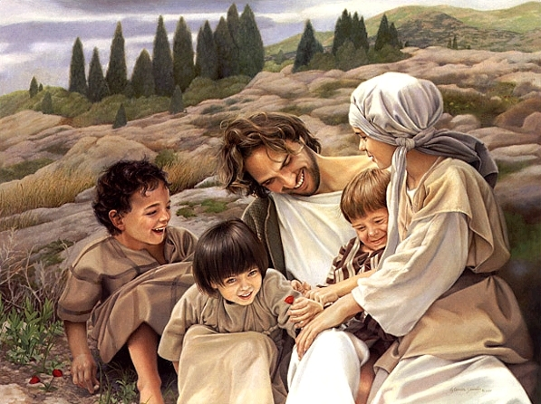 Image result for jesus loves children