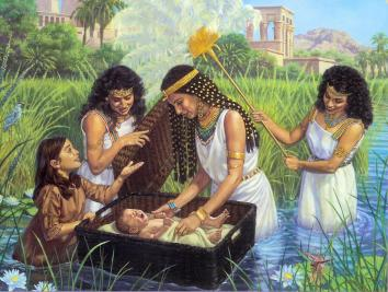 An analysis of tale of moses adversity since birth