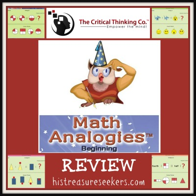 Mathematical Reasoning Level D, Grade 3, from The Critical Thinking Company