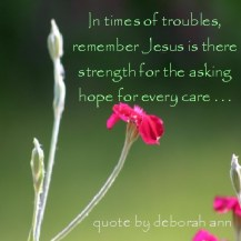 Quote of the Day by deborah ann ~ Hope ~