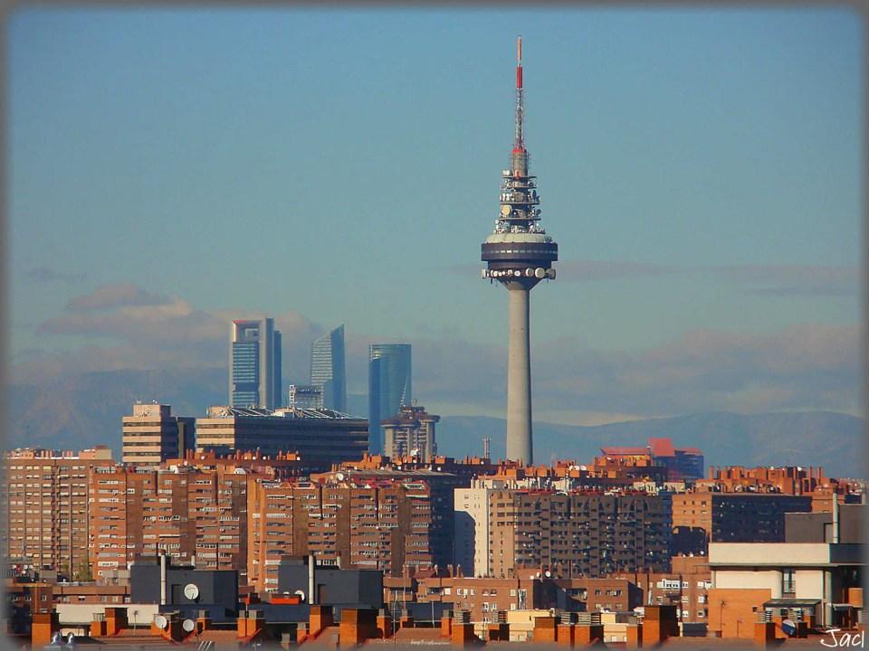 Madryt - widok na miasto