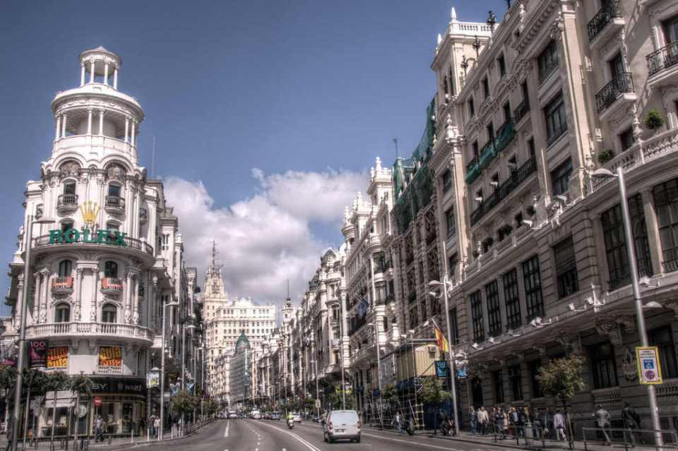 Madryt Gran Via