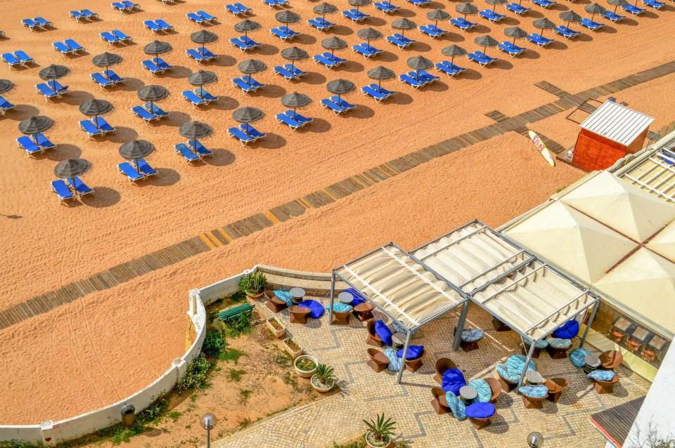Klify Algarve w Portugalii