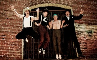 We salute you Red Hot Chili Peppers