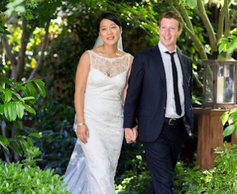 Mark Zuckerberg Priscilla Chan Γάμος