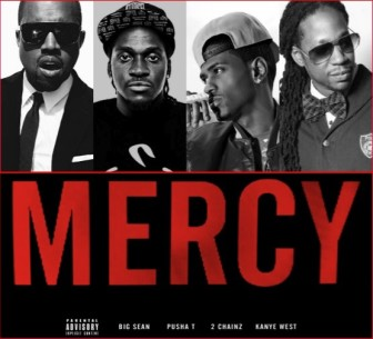 Big Sean, Pusha T, 2 Chainz & Kanye West – Mercy