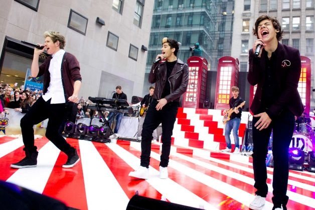 One Direction at Today Show